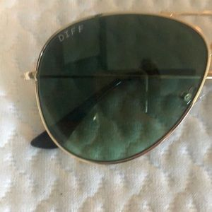 Diff Eyewear Accessories - DIFF Cruz aviator glasses